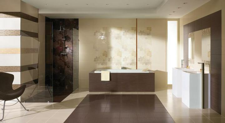 Inspirace - Obklady paradyz touch - na wc planujeme kombinaci jednoduchych svetlych a tmavych obkladu