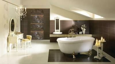 Paradyz touch - do koupelny v kombinaci s pandomem a na spodni wc kombinace svetlych a tmavych obkladu