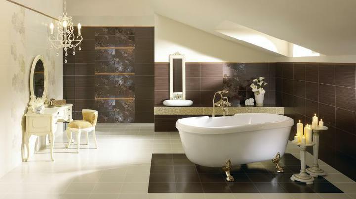 Inspirace - Paradyz touch - do koupelny v kombinaci s pandomem a na spodni wc kombinace svetlych a tmavych obkladu