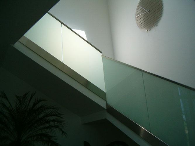 Zabradli - Varianta matného skla