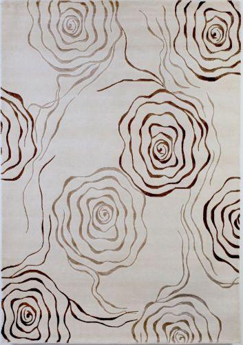 Inspirace z výstavy - Koberec Bakero - pokud sebereme odvahu, možná do obývacího pokoje, ale musíme si nejdřív pořádně rozmyslet, aby ladil s tapetou.