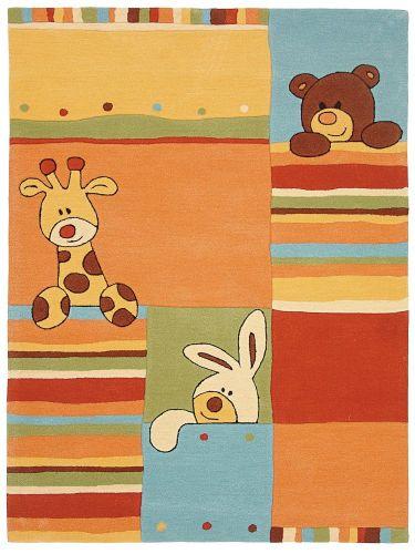 Inspirace z výstavy - Nejhezčí dětský koberec, jaký jsem zatím viděla - jednou bych ho ráda do dětského pokoje v rozměru 100x160.