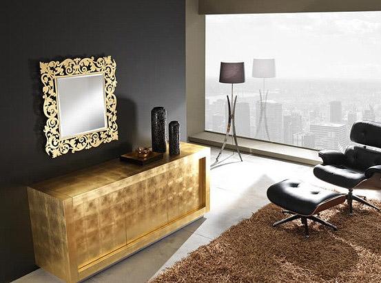 Zlatá v interiéru - Obrázek č. 25
