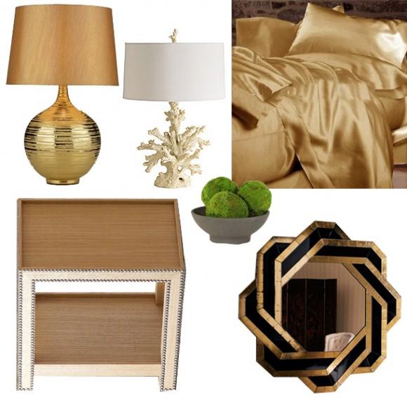 Zlatá v interiéru - Obrázek č. 31