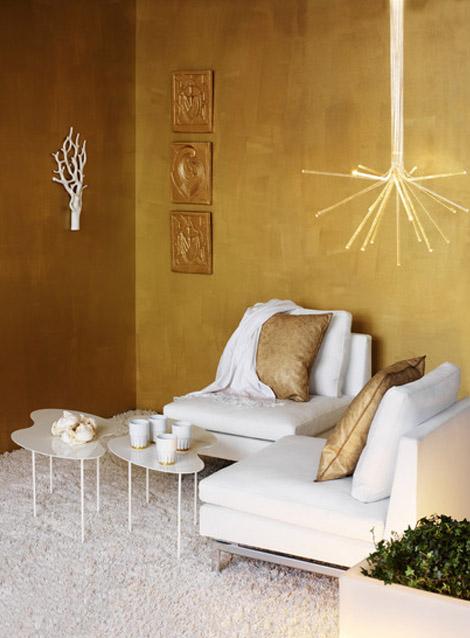 Zlatá v interiéru - Obrázek č. 32