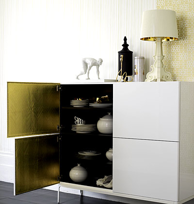 Zlatá v interiéru - Obrázek č. 39