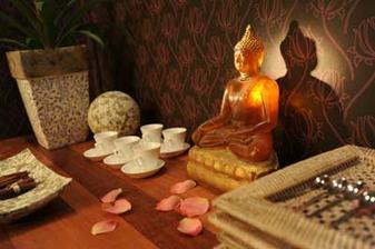 Soška buddhy bude v ložnici.