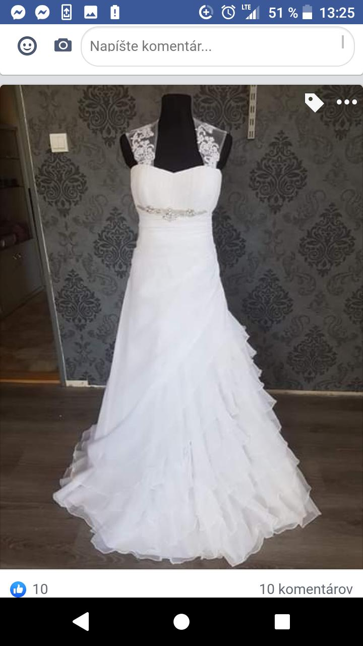 Svadobne šaty 2 - Obrázok č. 1