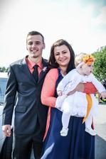 Brácha manžela s rodinou