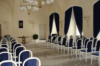 obřadní síň na zámku v Boskovicích