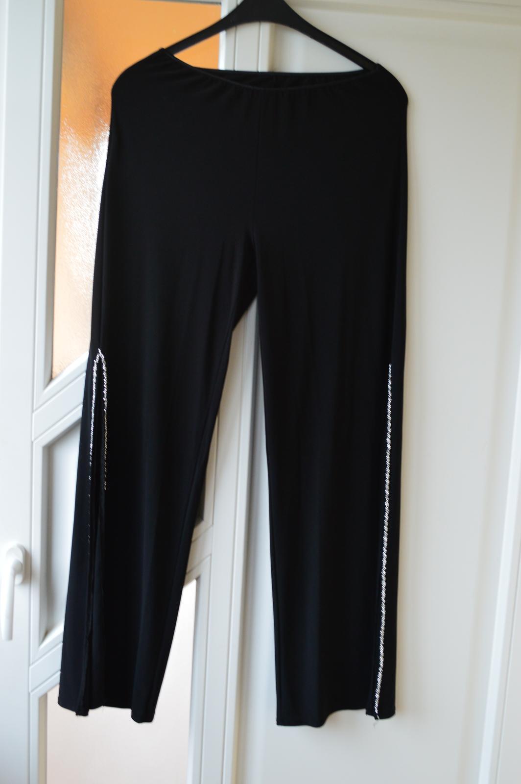nohavicové spoločenské šaty - Obrázok č. 2