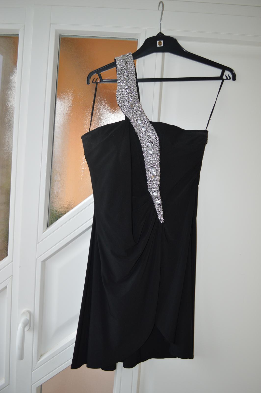 nohavicové spoločenské šaty - Obrázok č. 4