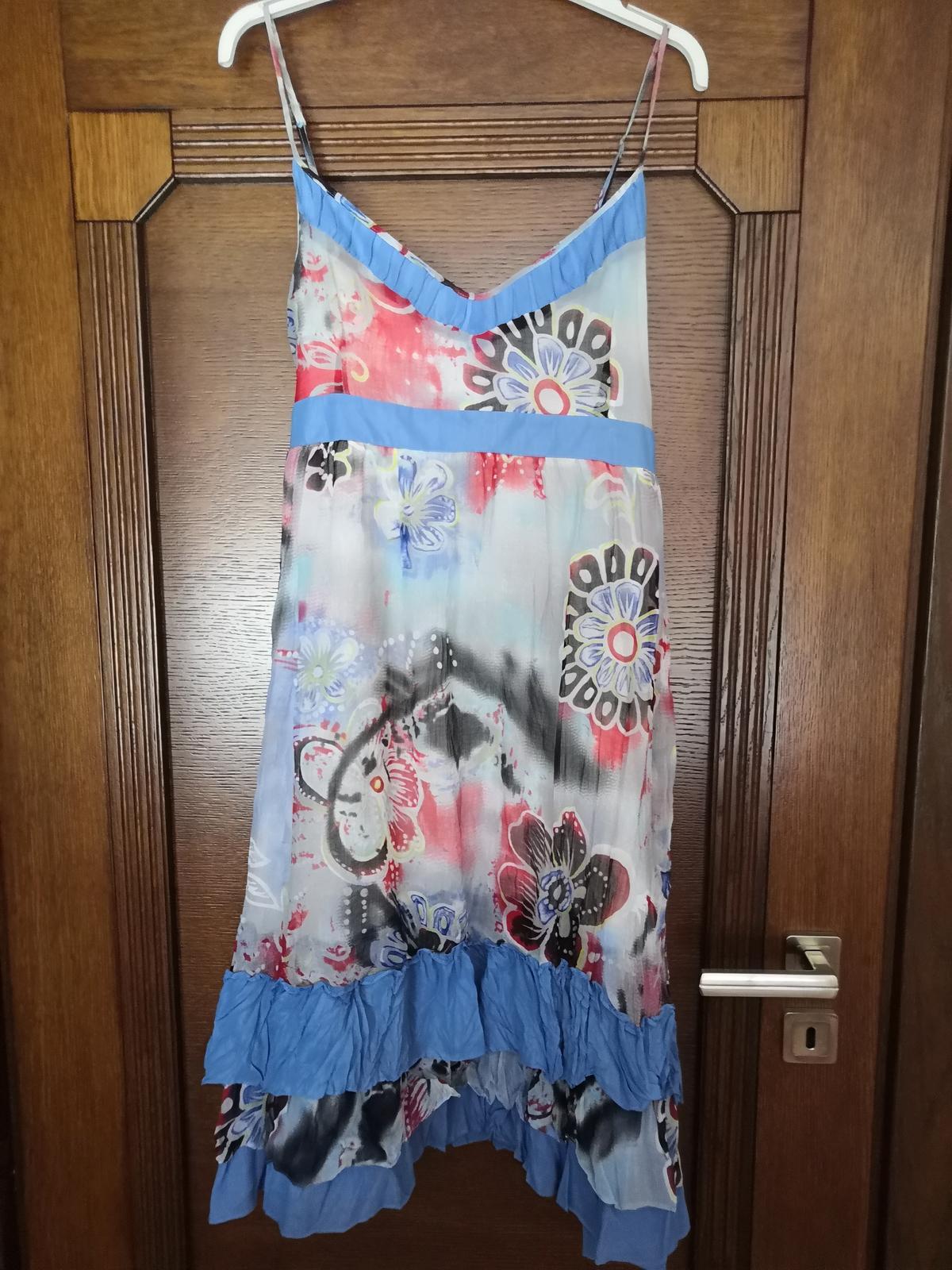 Letné vzdušné točivé šaty - Obrázok č. 1