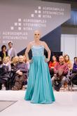 Krásne šifónové tyrkysové šaty s kamienkovým živôtikom - http://salonevamaria.sk/index.php?id_product=1071&controller=product