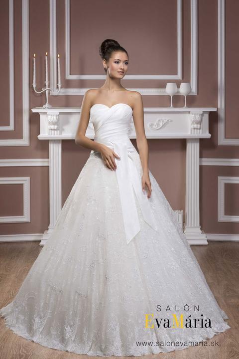 Svadobné šaty LUXURY - na mieru - Predajňa  Salón EvaMária d065551bb2d