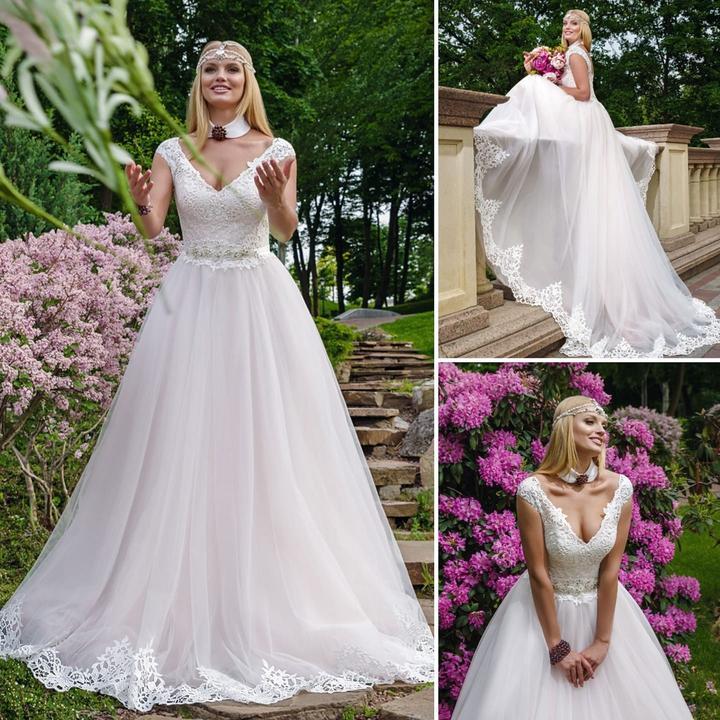 ef31afba0893 Svadobné šaty DILMA -