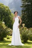 Krajkované svadobné šaty - na mieru, 40