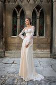 Svadobné šaty s krajkou - na mieru, 38
