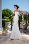 Famózne svadobné šaty s chrbátom ako šperk , 38