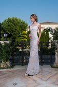Famózne svadobné šaty so zaujímavým vzorovaním , 38
