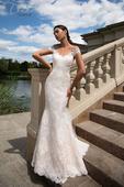 Čipkované priliehavé svadobné šaty , 38