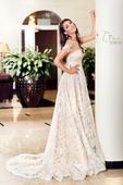 Čipkované luxusné svadobné šaty , 34