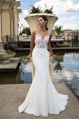 Svadobné šaty s luxusnou čipkou , 36