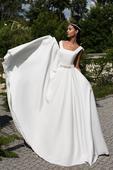 Božské celosaténové svadobné šaty , 40