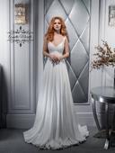 Očarujúce padavé svadobné šaty , 32