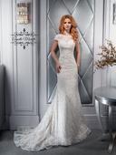 Čarovné svadobné šaty v strihu morskej panny, 36