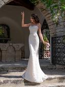 Luxusné celokrajkované svadobné šaty, 32