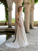 Luxusné celočipkované svadobné šaty , 40