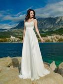 Podmanivé svadobné šaty s luxusnou čipkou, 32