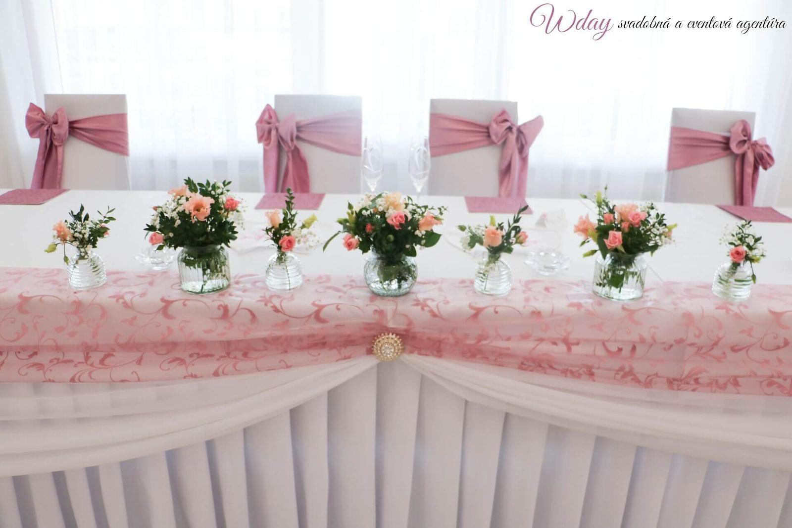 Svadba v nádhernej staroružovej - Obrázok č. 9