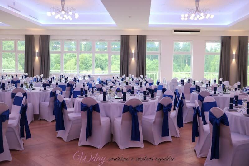 Kráľovský modrá svadba - Obrázok č. 2