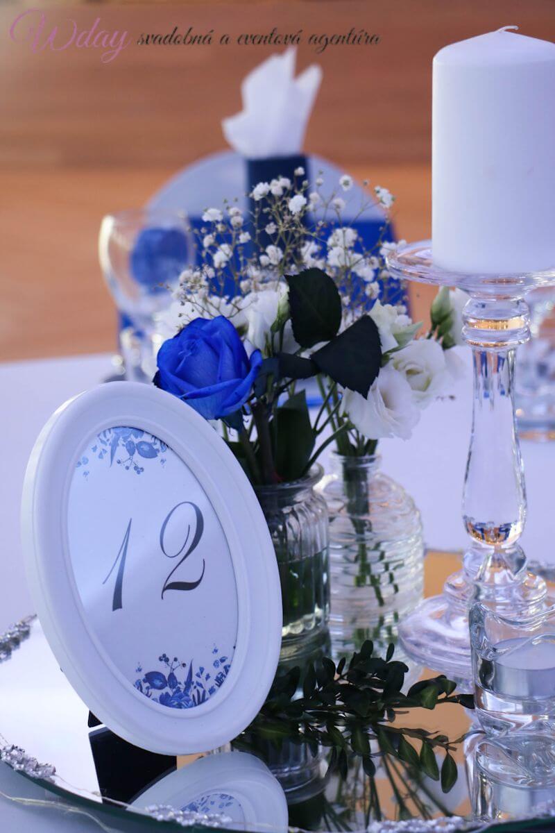 Kráľovský modrá svadba - Obrázok č. 3