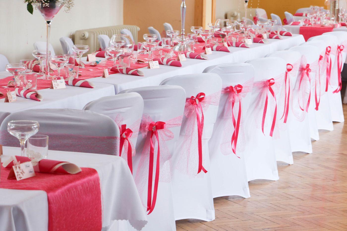 Mašľa na stoličku - ružová pavučinka - Obrázok č. 1