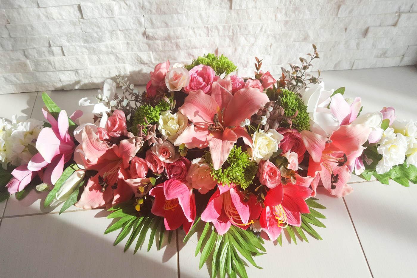 Ikebana na predný stôl - Obrázok č. 1