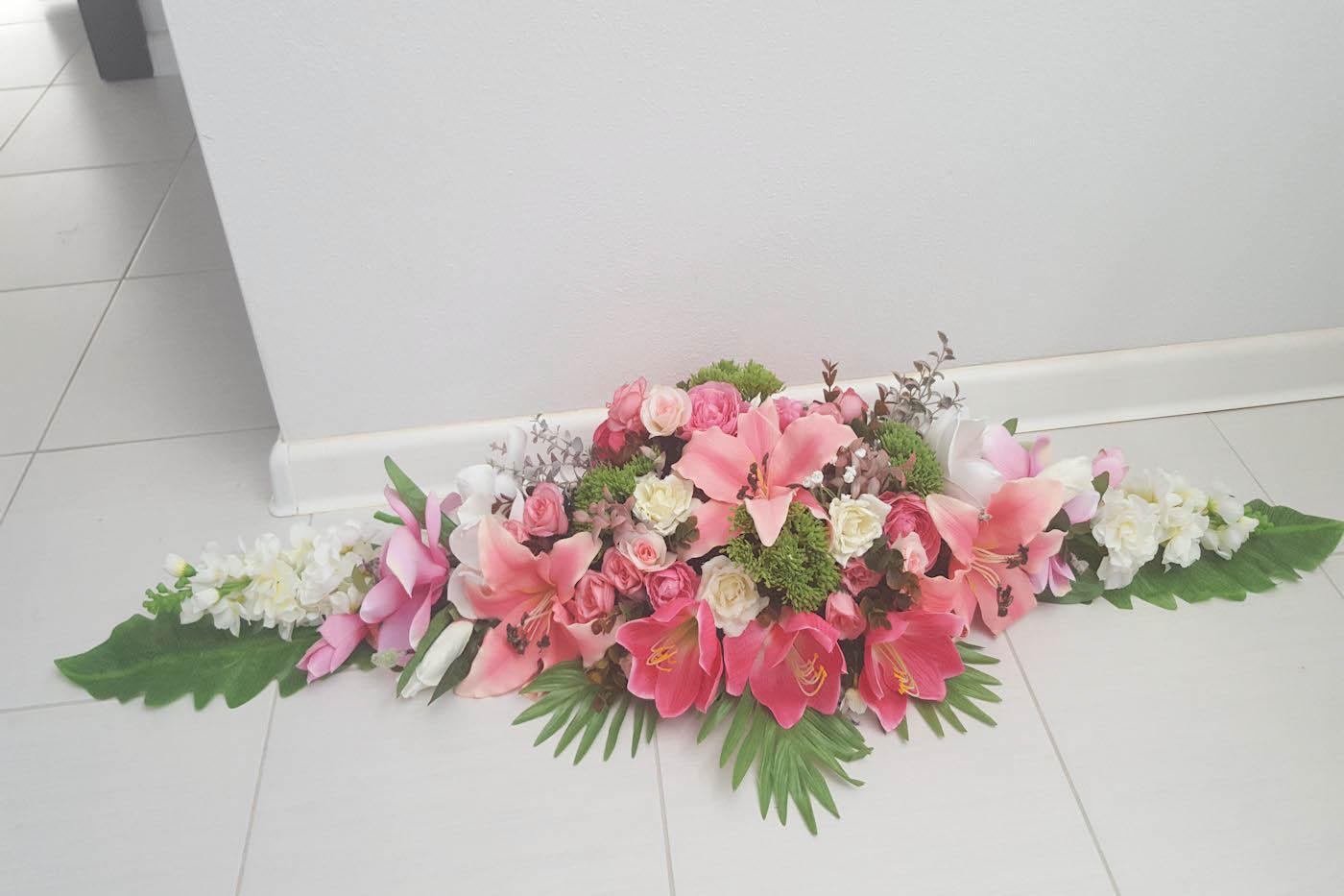 Ikebana na predný stôl - Obrázok č. 2