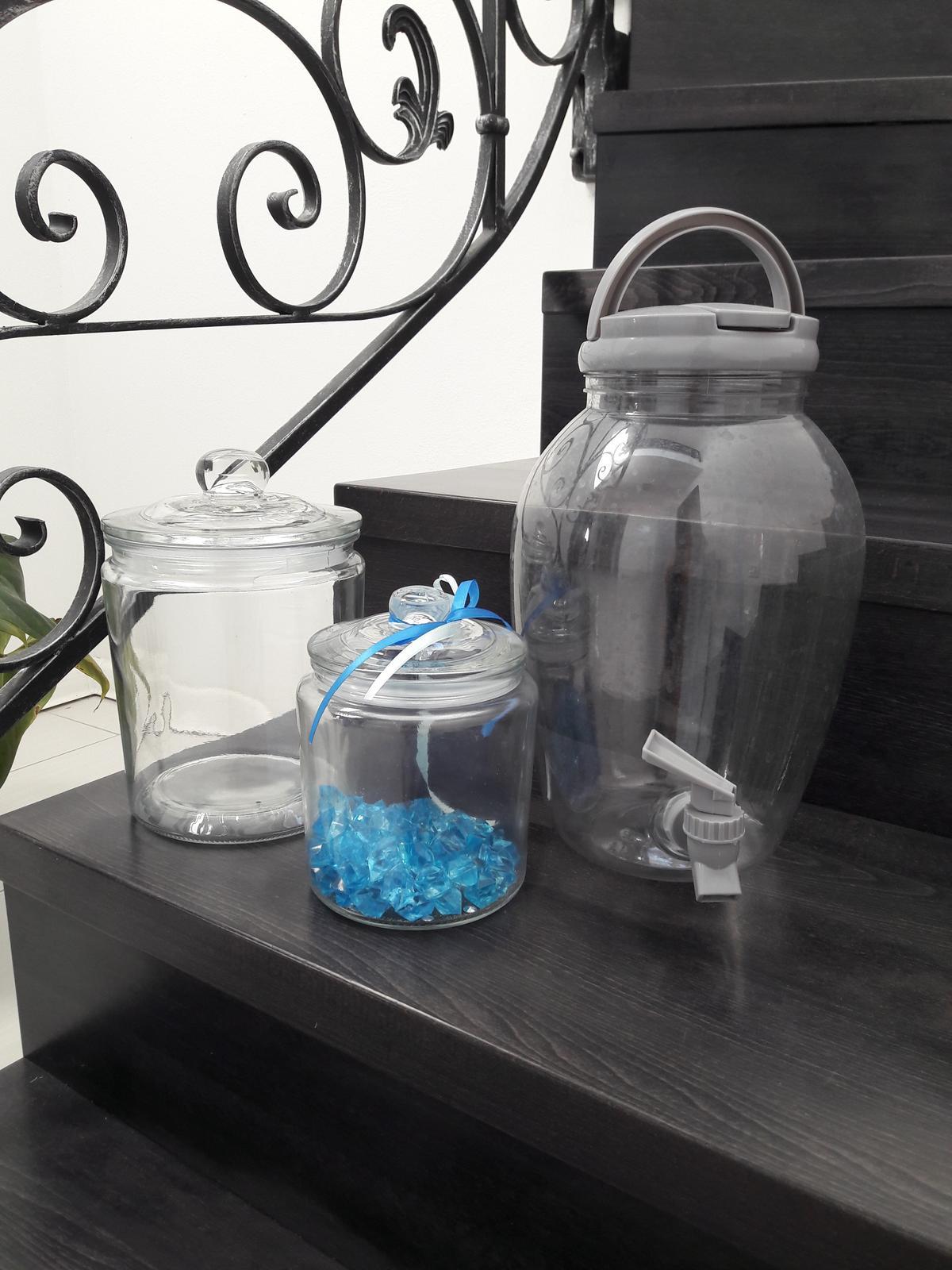 nádoby na cukrovinky do candy baru - Obrázok č. 1