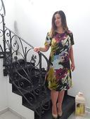 Spoločenské šaty farebné , M