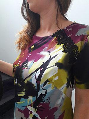 Spoločenské šaty farebné  - Obrázok č. 2