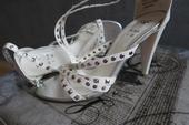 Biele Sandále, 36