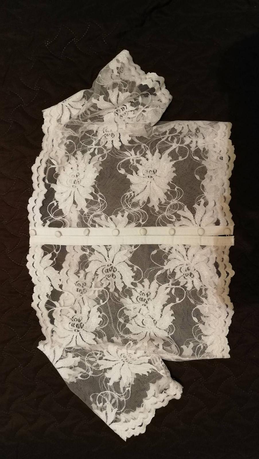Nadherné svadobné šaty s dlhou vlečkou-zlava - Obrázok č. 2