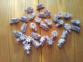 Kolíčky ve tvaru květiny,