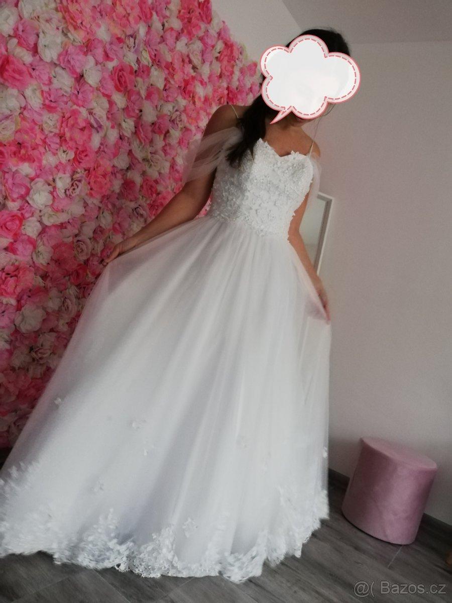 Boho šaty pro vílu - Obrázek č. 2