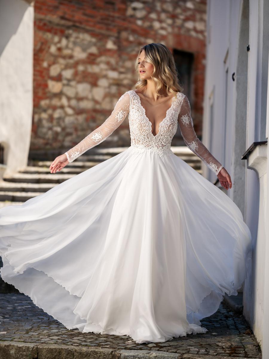 NOVÉ MADORA šaty s delším rukávkem - Obrázek č. 1