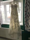 Svatební šaty styl Mořská panna, 38