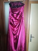 Dlhé šaty so šnurovaním, použité 1x, veľkosť 36, 36