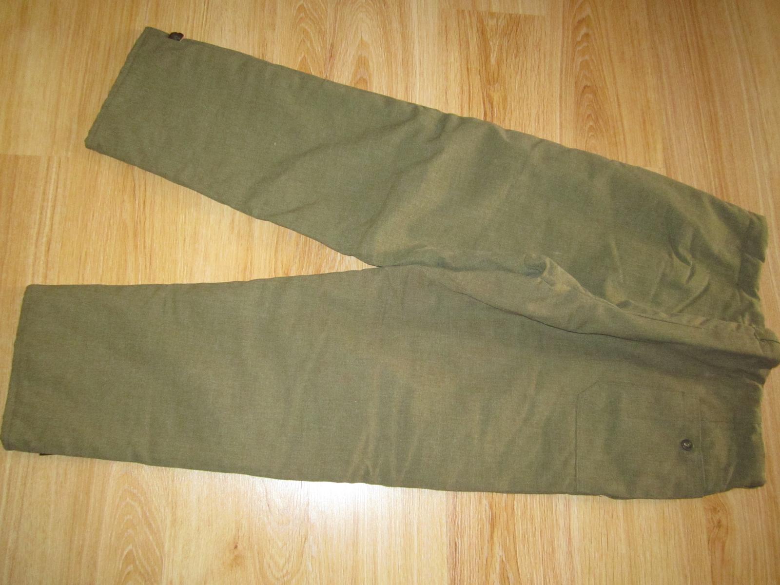pracovné oblečenie--nohavice--XL - Obrázok č. 3